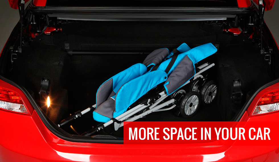 more space in the car