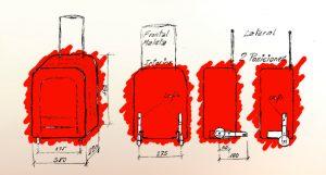 Primer prototipo maleta Isofix. Del maletero al asiento.