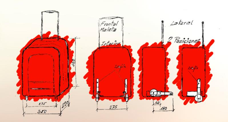 Primer prototipo maleta Isofix