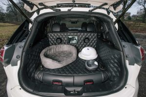 Interior del Nissan X-Trail 4Dogs